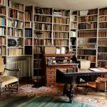 Bureau-bibliothèque de Claude Lévi-Strauss