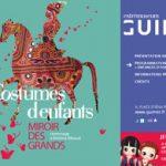 Affiche exposition Costumes d'enfants, musée Guimet